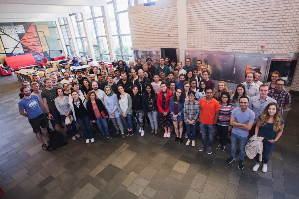 Groupphoto Workshop Delft 2018