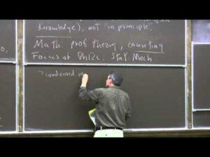 Caltech Physics 12c Introduction to Statistical Mechanics, 2011