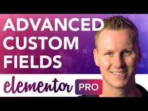 Elementor Pro + Advanced Custom Fields Tutorial 2021