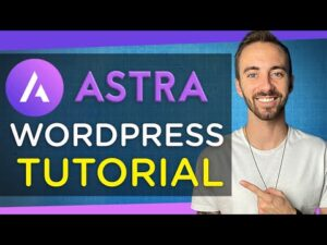How to Make a Website with Astra   2020 (Astra Theme Tutorial + Elementor)