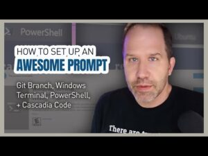How to set up an awesome windows prompt