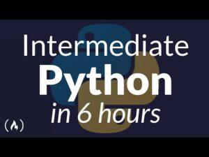 Intermediate Python Programming Course