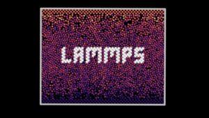 Large-scale Atomic/Molecular Massively Parallel Simulator (LAMMPS)