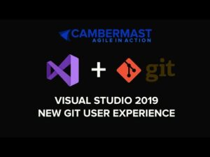 Learn the new Git User experience in Visual Studio 2019