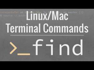 Linux/Mac Terminal Tutoriall