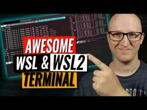 Make your WSL or WSL2 terminal awesome