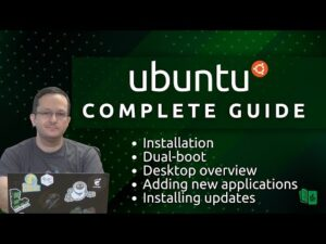 Ubuntu Complete Beginners Guide (Full Course in one video!)