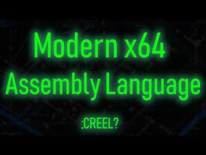 Modern x64 Assembly