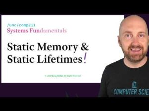 Static Memory and Static Lifetimes in the C Programming Language
