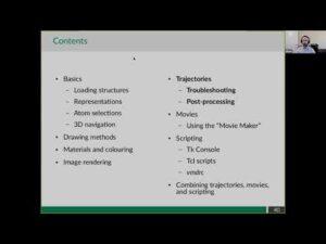 Intermediate VMD topics - Trajectories, movies, scripting