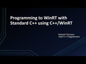 Utah Cpp Programmers